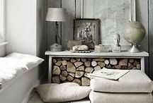 Shabby Chic - Inspiration / Rustic / Distressed Wood / Chic - Home Decor Ideas