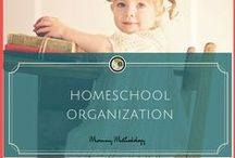 """HomeSchool Organization / """"You will not reap the fruit of individuality in your children if you clone their education."""" ~ Marilyn Howshall"""