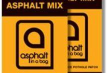 Asphalt in a Bag / Pothole repair product