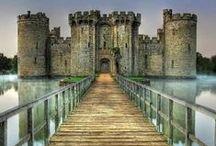 Castles- England / by Rachel Windsor
