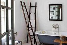 Vintage Ladders - Inspiration / New Ways to use Vintage Ladders