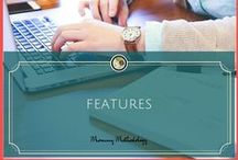 Mommy Methodology Features / Featured Articles on Our Small Hours and BonBon Break