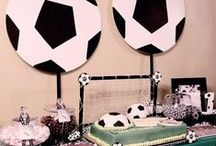 Foci parti/Soccer inspired party ideas