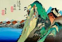 Japoniaiserie / avec tout ce qui touche à la culture nippone.