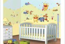 Disney Muurstickers / Disney decoratie stikkers voor op je muur of meubels. Eenvoudig aan te brengen en natuurlijk Herbruikbaar zo kun je de babykamer of kinderkamer zo vaak je wil veranderen