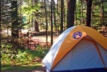 Camping / Having fun while camping