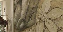 Idées MURALES / Des idées de murales intégrées dans leurs décors. Rien n'est impossible !