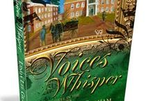 Voices Whisper / Visual Inspiration for Voices Whisper, the second installment in the Voices historical fiction series