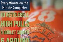 Kettlebell Exercises, Kettlebell Workouts, Kettlebell Circuits / Kettlebell Exercises, Kettlebell workouts and kettlebell circuits are some of the best all around fitness exercises! Kettlebells are the single best piece of workout equipment you can own!