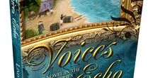 Voices Echo / Visual Inspiration for Voices Echo, the third installment in the Voices historical fiction series