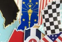 Stickers / Our signature Hoosier Proud Stickers