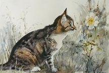 Mineke Reinders / Suluboya resimler - Watercolor paintings