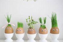 Ostern Dekoration / Oster, Feste, Tischdeko