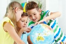 Geography and Map Skills / Help your child discover the world we live in with these educational geography and map skills pins. Here you will find inspiration that will help kids learn about different countries, cultures, landforms, and map skills in your homeschool or classroom.