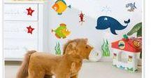Walldecor decoratie stickers / decoratie stickers, kinderkamer dcoratie