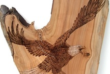 Pyrography / Wood burning / by the Basswood Man
