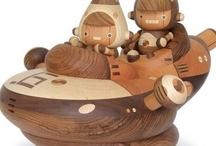 Wooden Toys / Wooden toys for kids of all ages / by the Basswood Man