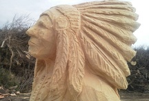 Chainsaw Carving / by the Basswood Man
