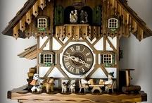 Clocks and Cuckoo Clocks / by the Basswood Man