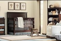 Nursery ideas... / Modern and fun ideas for decorating a baby boy nursery, a baby girl nursery, or even a nursery for twins or multiples!
