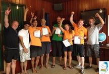 IDC Training Vietnam / Training PADI Divemasters + Instructors since 2001 with PADI Course Director Jeremy Stein at Rainbow Divers