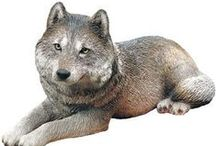Wolf sculptures  / by Debra Galarneau