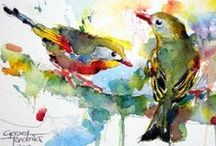 Birds - Art and Animals - Dieren en kunst / Dieren en kunst - Art and Animals - Birds