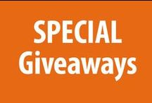 Special Giveaways! / Any offers available on a special occasions will be listed under this board. Current offers: Halloween Specials