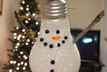 Christmas Decoration Ideas / From tinsel to baubles there are lots of ways to decorate your home this Christmas!
