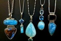Caribbean Larimar / Caribbean Larimar Jewelry - the only genuine gemstone mined exclusively in the Caribbean