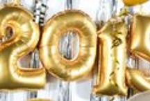 New Years Party  / Ideas and tips on how to bring in the New Year in style..