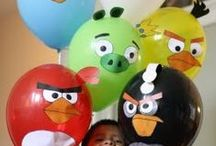 Angry Birds Party / Turn your favourite game into a reality with these Angry Birds party ideas!