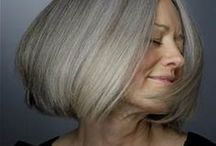 Hair over 50 / Best hair styles for women over 50
