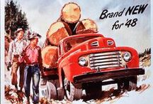 Vintage Ford Automotive Ads