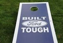 "Fun Gift Ideas / Ford Motor Co. branded swag & cool gift ideas for the Ford Fan in your life including ""Built Ford Tough"", Mustang and Ford branded apparel!"