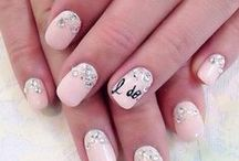 Wedding Manicures / Trendy nail designs for your wedding.