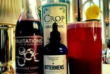 Friends In Buzzed Places / We've got friends in high places (and they make fabulous drinks with our pure bottled fruit).