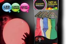 Light Up and Glow Accessories / Light up and glow accessories for outdoor parties, festivals and funky goody bag gifts. Adults and kids will love your party look and glow long into the night!