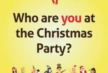 Christmas Party Stereotypes / Which Christmas stereotype are you?    From the office chatterbox to the office mystery, there are certain personalities that you find in every workplace.   Recognise any of these Christmas characters? Which one are you?