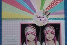 Scrapbook pages by me