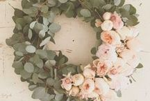 Wreaths For Any Season / Wreaths are festive year round! Here are a few of our favorite wreaths for any season!