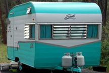 My Vintage Trailer Hobby / Love collecting and restoring these cool vintage delights! / by Gwyn's World