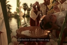 Inspiring TV Commercials / Powerful commercials from CatholicsComeHome.org, aimed at inviting fallen-away Catholics and non-Catholics home to the Catholic Church.  / by Catholics Come Home