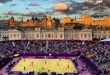 Olympic Games / Volleyball was first introduced at the 1964 Summer Olympics in Tokyo, as part of an American sports demonstration event, and was officially added to the Olympic program in 1957. Beach Volleyball was first played at the 1996 Olympic Games at Atlanta and has since continued to be one of the main attractions. / by FIVB Volleyball