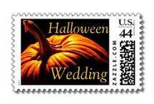Halloween Wedding - Elegant and Gothic / Hallowedding Ideas:  flowers, cakes, dresses, make-up, reception ideas and invitations.