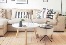 Indoor inspiration  / Interior styling with a Nordic / Scandinavia background.