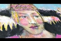 Videos about my Art Journaling and Paintings / Come visit my blog: http://piaromsartjournaling.blogspot.de