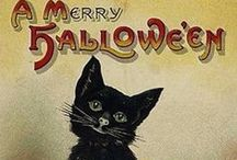 Vintage Halloween / Did you know that Halloween used to be a holiday with finding Romance?  People would play games to see whom they would love (and who would love them.)