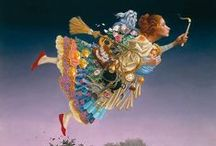 Art of James Christensen / Fantastic art by a creative mind.