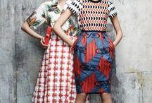 • mix&match / fashion outfits with amazing patterns
